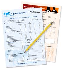 effective and efficient scannable paper surveys