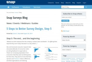 Snap Surveys Blog