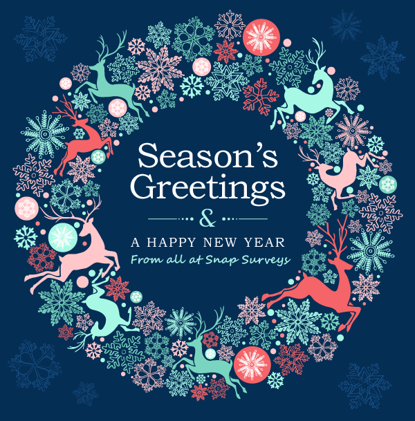 ... at Snap Surveys send our very best wishes for a happy holiday break