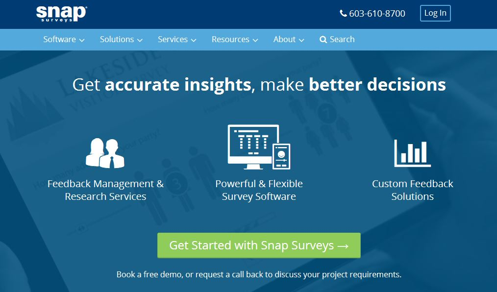 Attirant New Snap Surveys Homepage