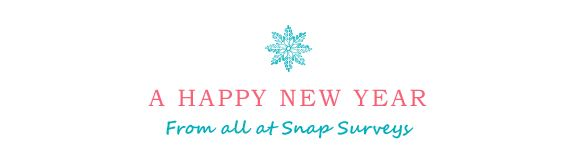 Happy New Year from all of us at Snap Surveys!