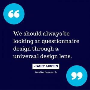 Gary Austin quote _universal design