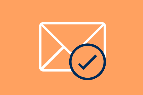 email tick