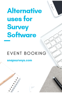 Alternative use for survey software