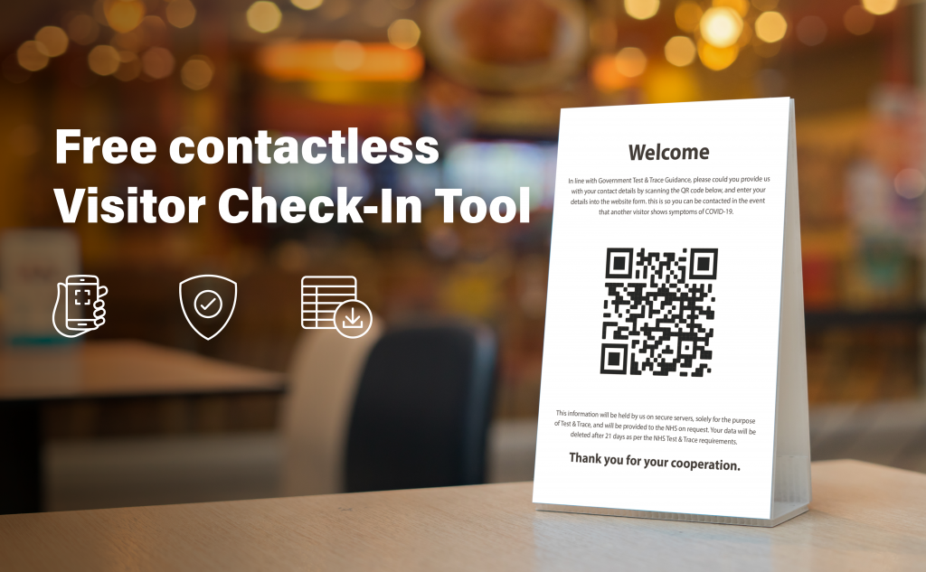 Free Contactless Visitor Tracing Tool