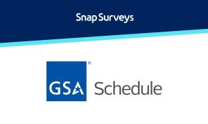 GSA Schedule | Snap Surveys