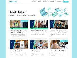 Snap Surveys Marketplace