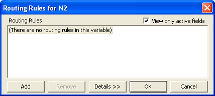 Empt n2 routing dialog