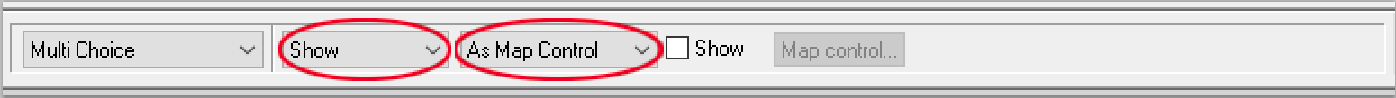 show-&-map-control new