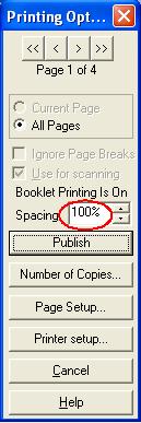 Print properties: publish scanning survey