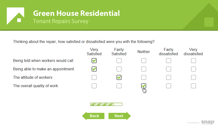 Branded surveys snap surveys for Design of household surveys