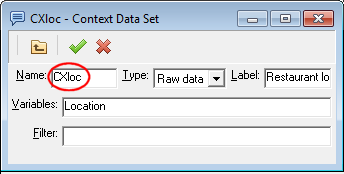 CXloc Context Data Set