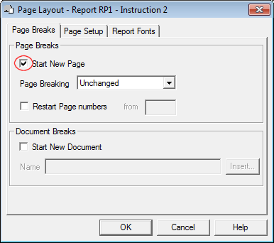 Report RP1 Instruction