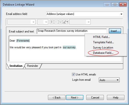 DL wiz: sample email for SO
