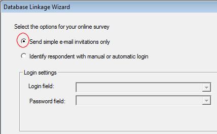 Simple e-mail invitations