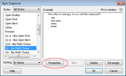 Image Checkboxes dialog