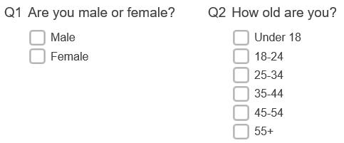 Gender age