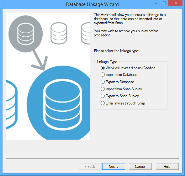 Database Linkage Wizard