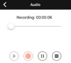 recording player