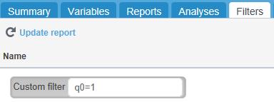 webhost filters tab