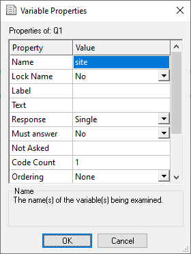 variable properties