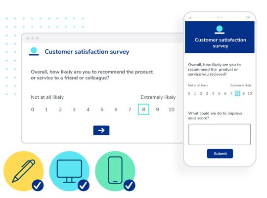 Create engaging surveys.
